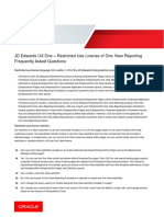 JD Edwards FAQ_UX One and One View Reporting