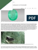 Unusual Purple Inclusion in Emerald _ Gems & Gemology