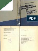 Mastenbroek W F G Konfliktusmenedzsment és szervezetfejlesztés