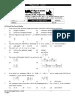 M_2Y_Straight Line_Class Test - 6.docx