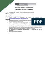 Cas-075-2016-Especialista Recursos Humanos Ugel 7