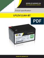 Datasheet LP12V11AH BT