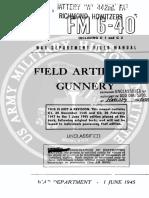 FM 6-40 Field Artillery Gunnery 1945.pdf