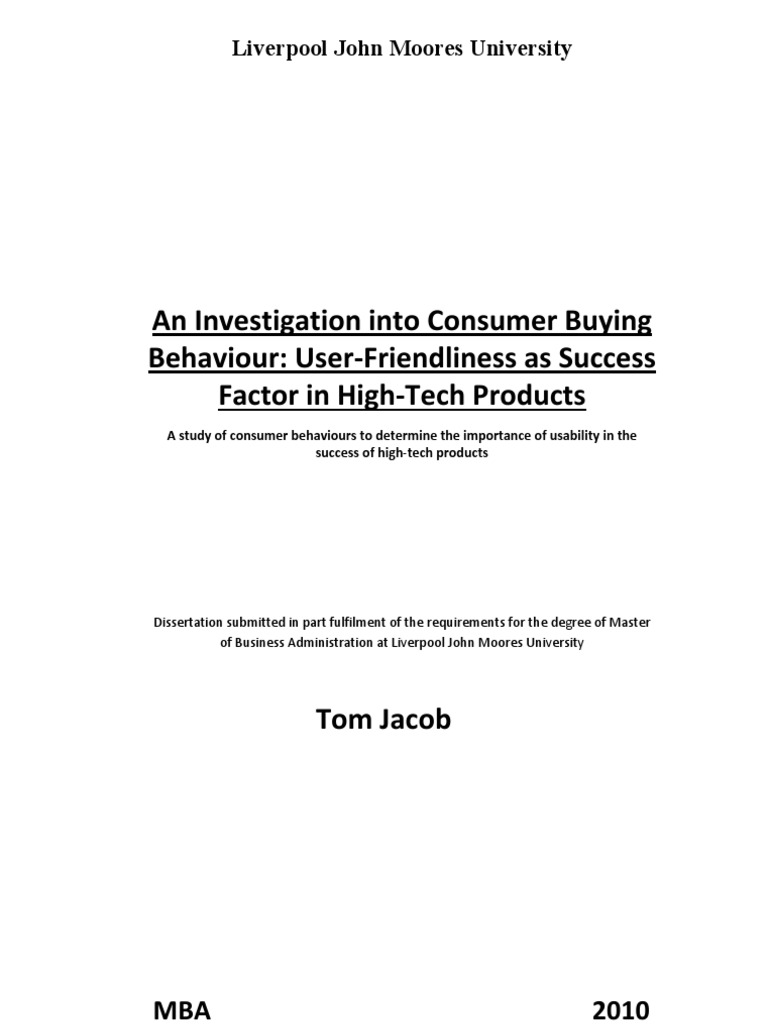 Dissertation paper on strategic management tesco