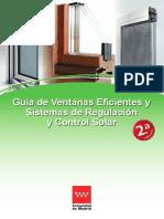 Guia de Ventanas Eficientes y Sistemas de Regulacion y Control Solar v2 Fenercom 2016