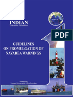 Guidelines on Promulgation of NAVAREA Warnings