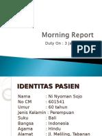 Morning Report BRSU Tabanan1