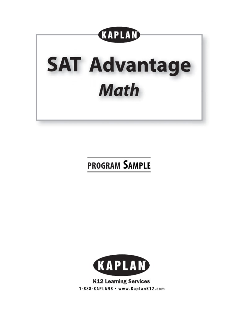 Workbooks kaplan sat critical reading workbook : sat II math | Sat | Fraction (Mathematics)