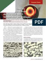 Artigo - Tratamento Térmico