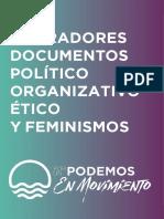 Borrador Político Podemos En Movimiento