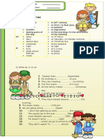 Prepositions of Time 2012