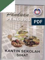 Cover Buku Panduan Kantin