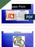 Curso de formación de Microsoft Power Point