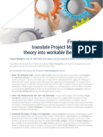 ILX Five Steps to Translate Project Management Theory Into Workable Best Practice