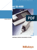 Manual MitutoyoSJ 400 E4185 178