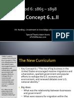 APUSH - Concept - 6.1.II - Harding