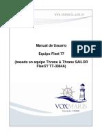 Manual de Usuario Equipo Fleet 77