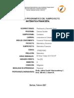 MatemFinanc III