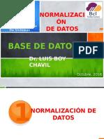 Normalización de Datos