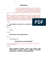 Ordenasyon Ng Pari (Foolscap)