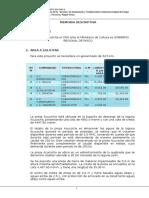 Memoria Descriptiva-laguna Acucocha REV-1