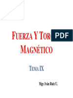 9 Fuerza Magnetica