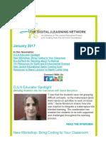 DJLN January 2017 Newsletter