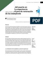 La Experiencia Latinoamericana de Renovación de Los Waterfronts