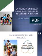 La Familia-Un Lugar Privilegiado Para El Desarrollo Del Ser