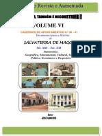 CADERNOS DE APONTAMENTOS N.º 36 - 41 (VOLUME VI)