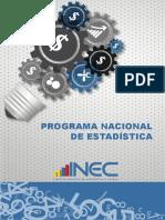 Programa Nacional de Estadistica L