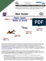 1.Mach Number