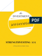 Wealth Factory Investment Scorecard