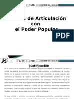 Base Para Política de Articulación Con El Poder Popular Actualizado ACTUALIZADA