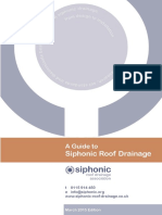 A Guide to Siphonic Roof Drainage
