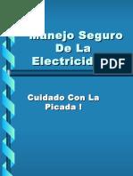 Manejo Seguro de La Electricidad
