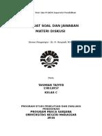 Materi diskusi manajemen personalia