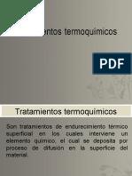 Tratamientos termoquímicos