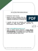 Curso Peticoes Previdenciarias Carlos Gouveia