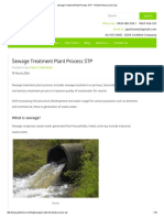 Sewage Treatment Plant Process STP - Perfect Pollucon Services