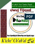 Kumatzij Texto Inicial _I_ K'Iche'