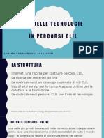 Uso Delle Tecnologie Nei Percorsi CLIL