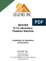 Denver Instruction & Operation Manual