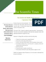 scientific newsletter