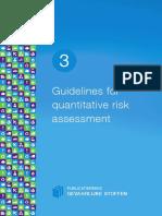 Purple Book Quantitative Risk Assessment