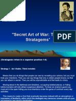 Secret Art of War