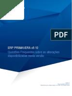 FAQ_ERP Primavera v9