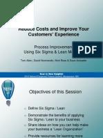 Lean Customer Experience