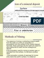 Mining Methods