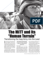 "The MiTT and its ""Human Terrain"""